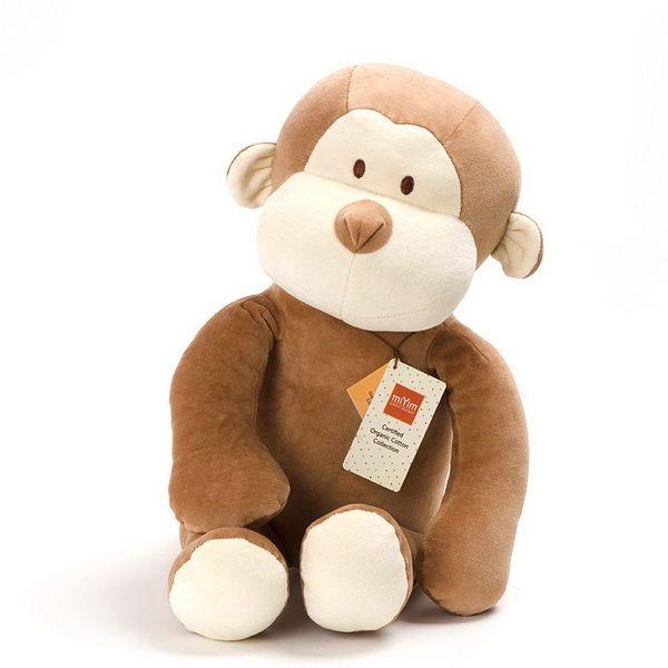 美國 miYim 有機棉安撫公仔 - Fred 猴子 中型60cm