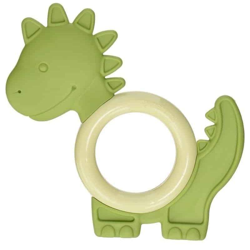 美國 My Natural 天然有機牙膠 – 綠色恐龍