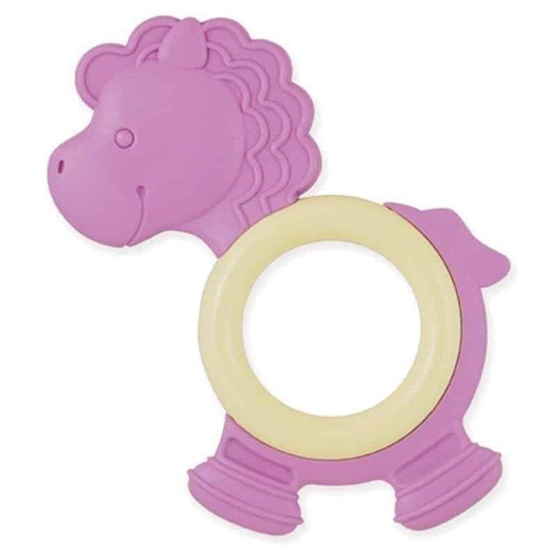 美國 My Natural 天然有機牙膠 – 粉紫小馬