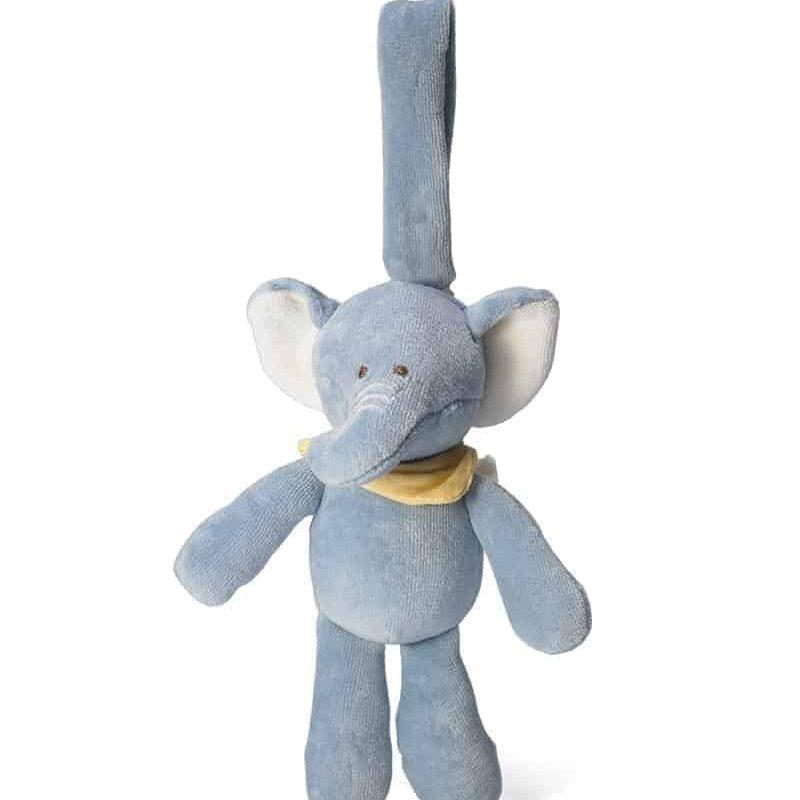 美國 miYim 有機棉吊掛公仔 - Eddie 大象