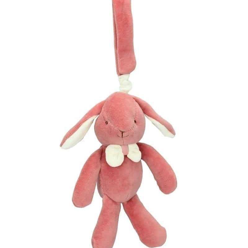 美國 miYim 有機棉安撫玩具禮盒 - Victoria 兔子 3件組