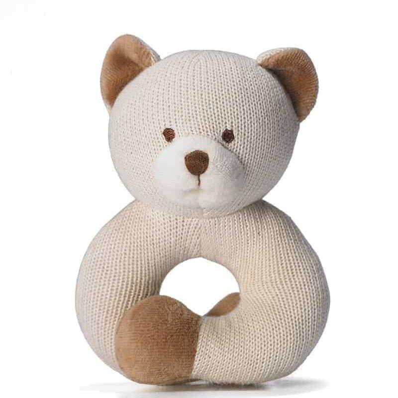 美國 miYim 有機棉固齒手環 - 熊