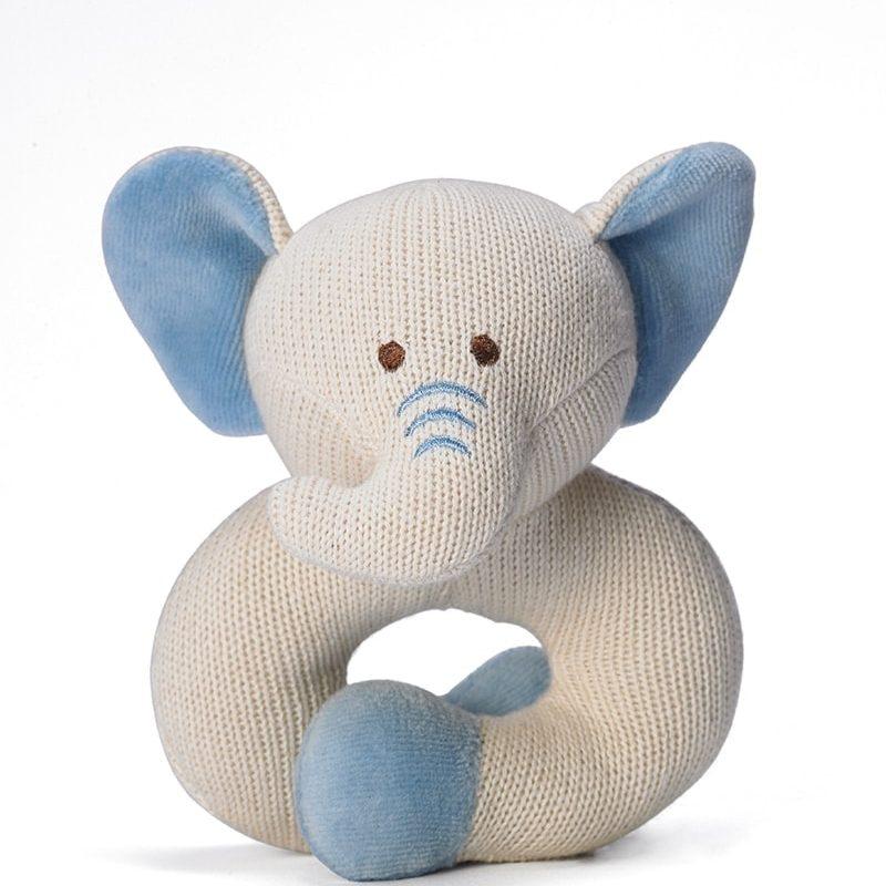 美國 miYim 有機棉固齒手環 - 大象