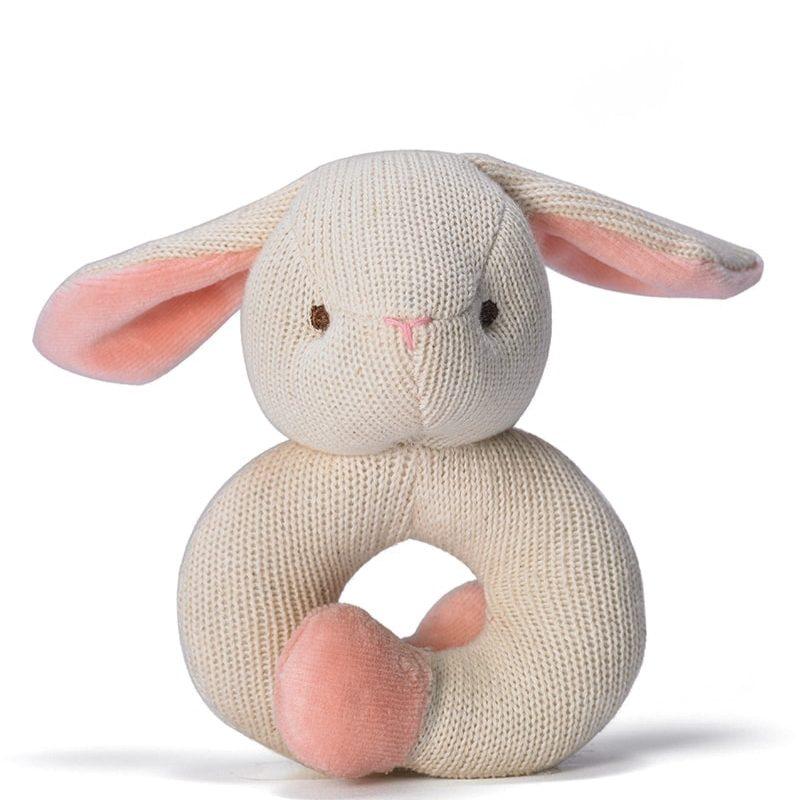 美國 miYim 有機棉固齒手環 - 兔子