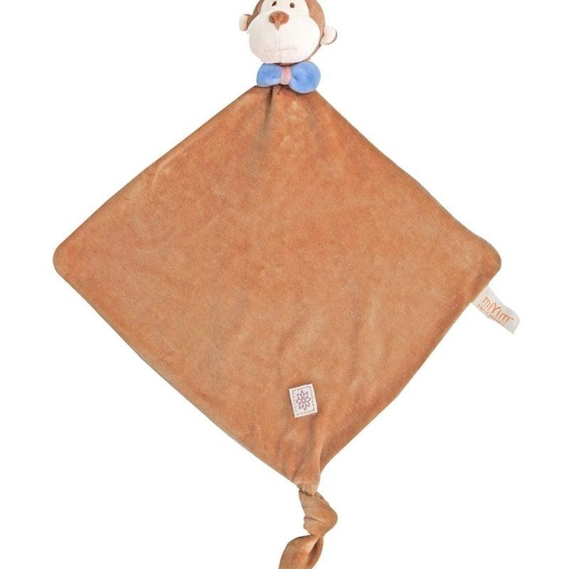 美國 miYim 有機棉安撫巾 - Fred 猴子