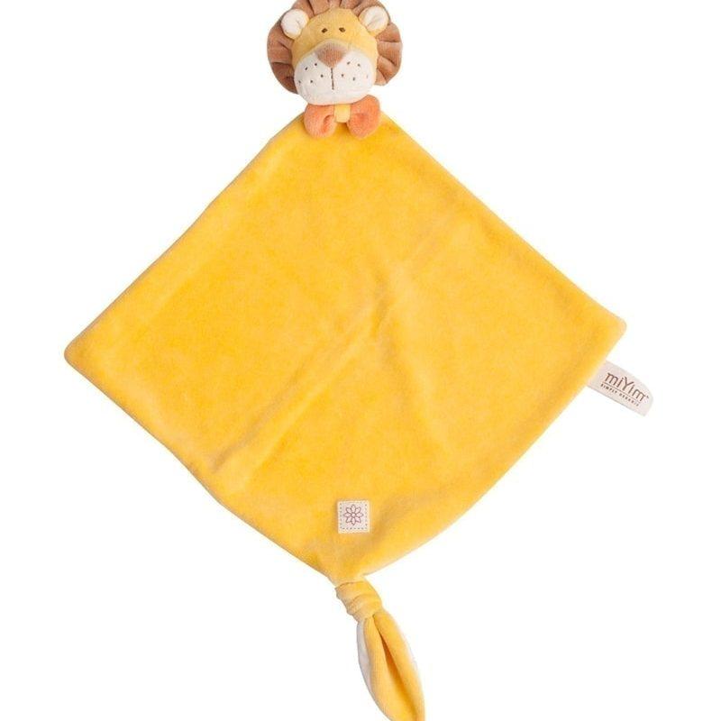 美國 miYim 有機棉安撫玩具禮盒 - Leo 獅子 3件組