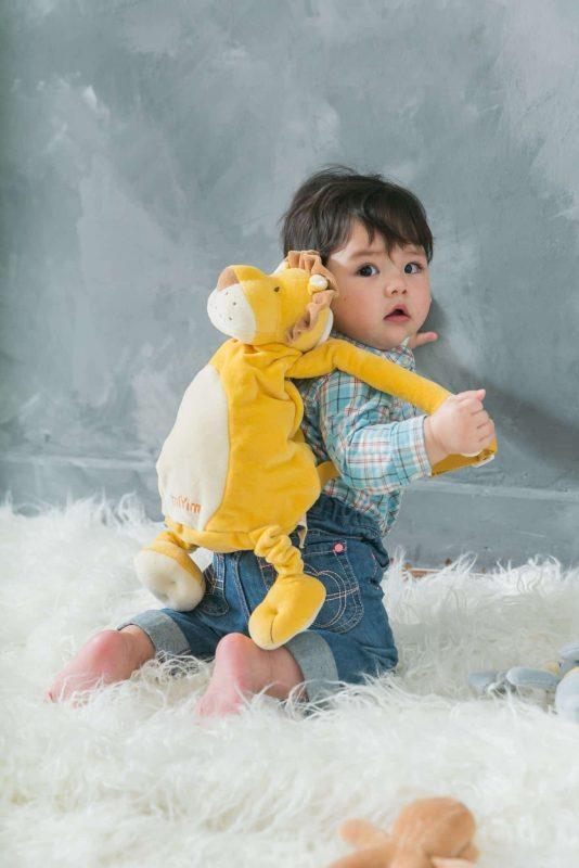 美國 miYim 有機棉動物書包 - Leo 獅子