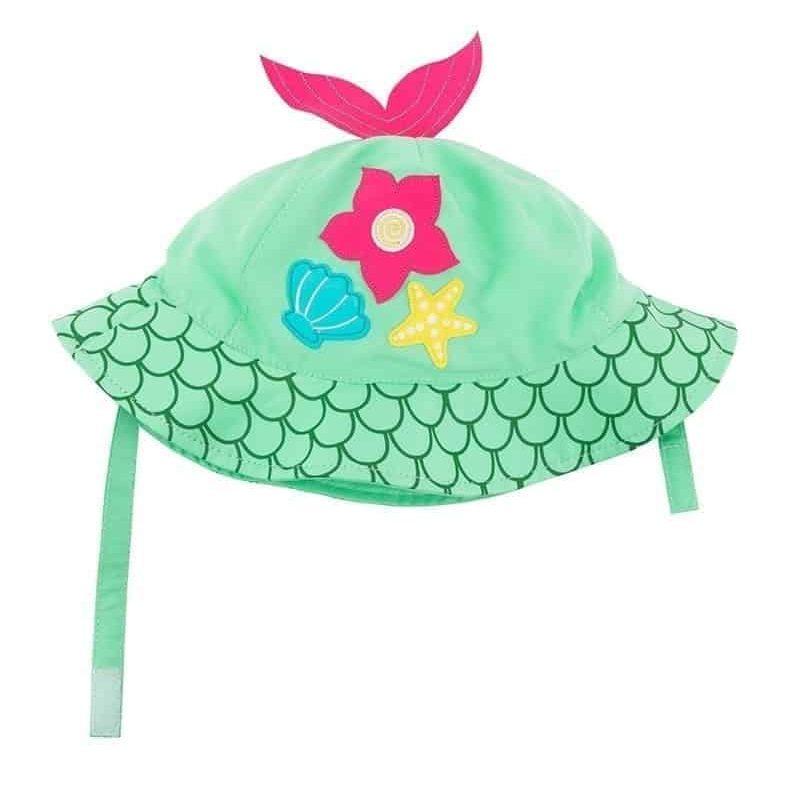 美國 Zoocchini 太陽帽 - 美人魚