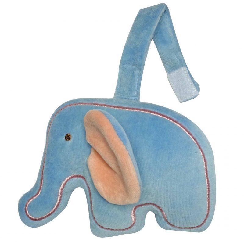 美國 miYim 有機棉吊掛公仔 - 大象