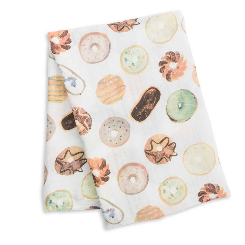 加拿大 Lulujo 竹纖維包巾 - 甜甜圈