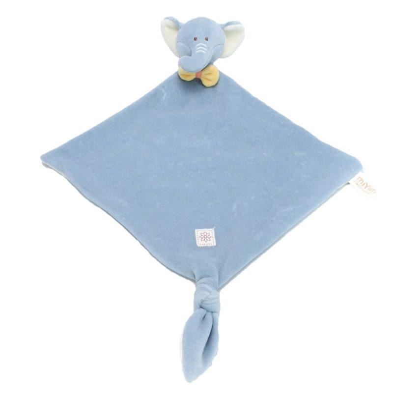 美國 miYim 有機棉安撫巾 - Eddie 大象